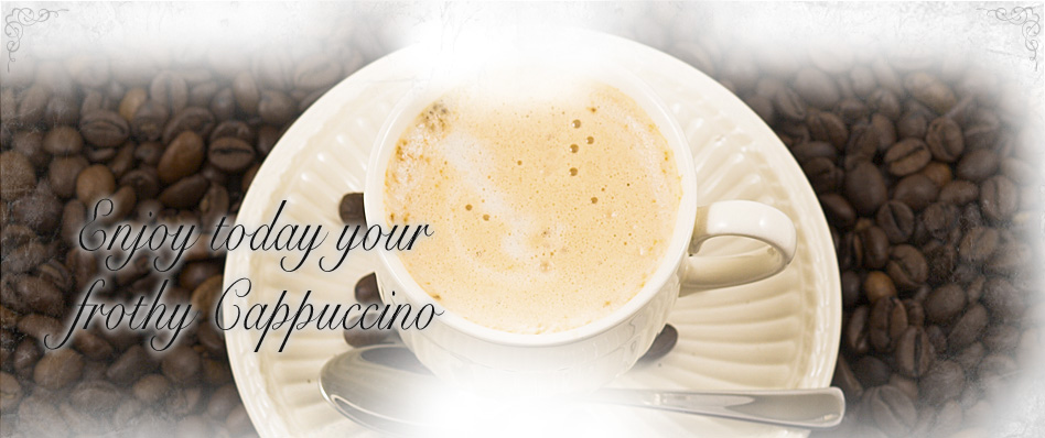 Enjoy a frothy Cappuccino at Fratelli Cafe & Panini Bar