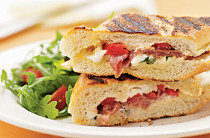 Grilled Panini from Fratelli Cafe & Panini Bar